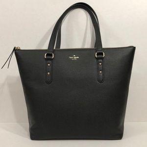 Kate Spade large black tote bag